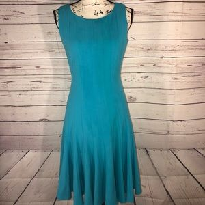 Ellen Tracy Fit And Flare Dress Size 6